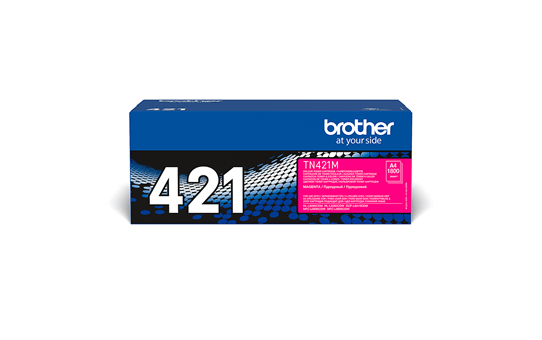 Оригинална тонер касета Brother TN-421M – Червено