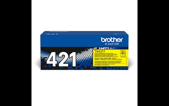 Brother TN421Y toner jaune - rendement standard