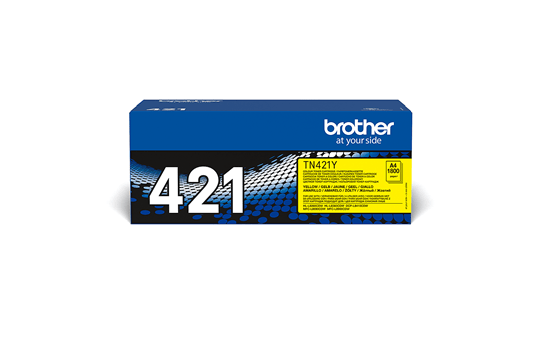 Genuine Brother TN421Y Toner Cartridge – Yellow 2