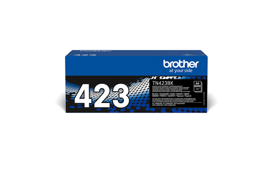 Originele Brother TN-423BK zwarte tonercartridge 2