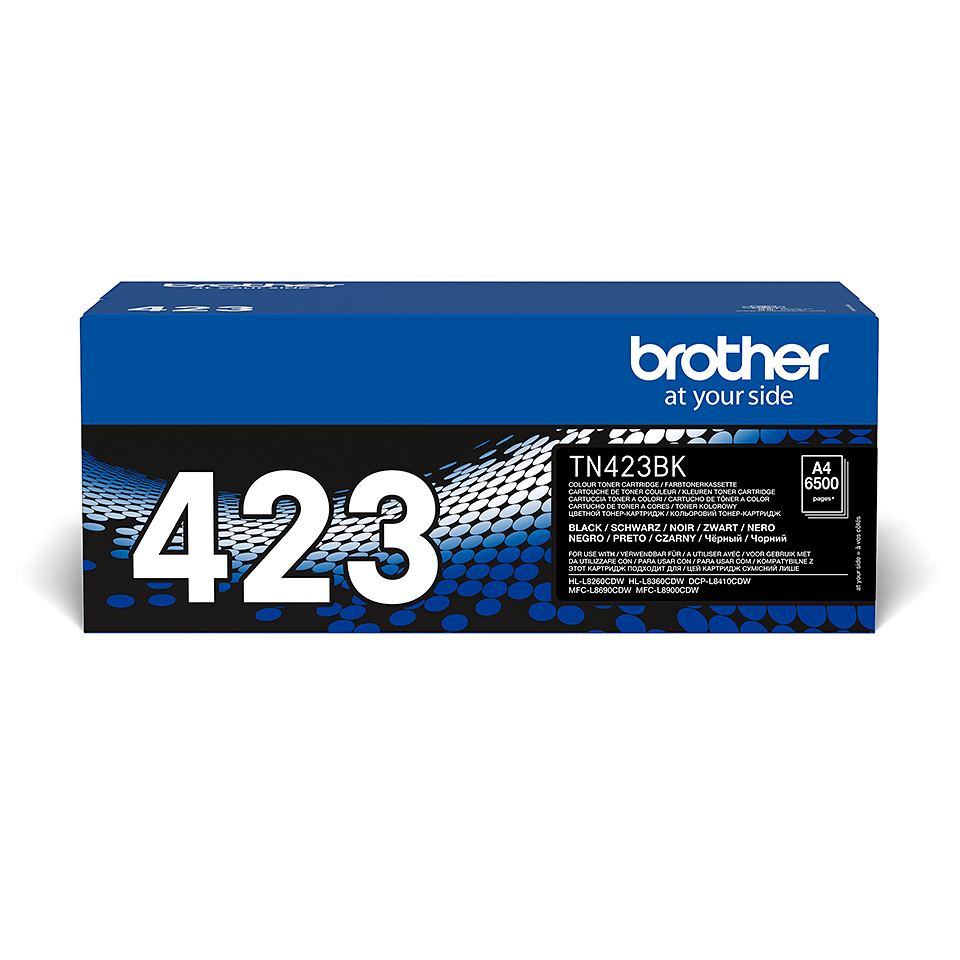 Cartouche de toner TN-423BK Brother originale – Noir