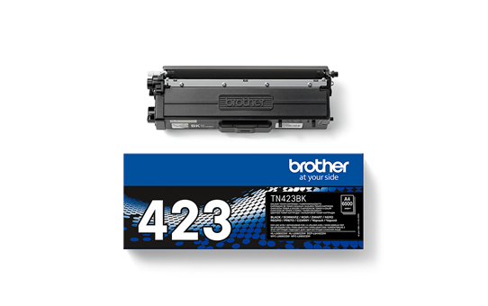 Originali Brother TN423BK dažų kasetė – juodos spalvos 2
