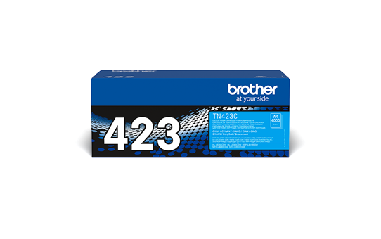 Oriģināla Brother TN423C tonera kasetne - ciāna