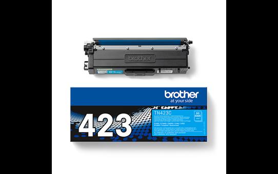 Оригинална тонер касета Brother TN423C – син цвят 3