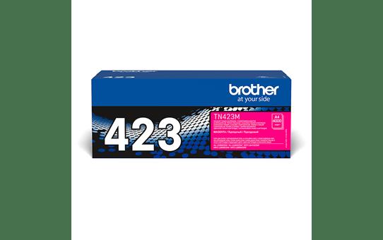 Brother TN423M: оригинальный красный тонер-картридж.