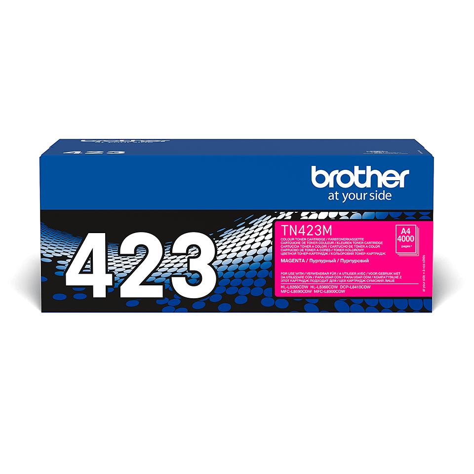 Cartuș de toner original Brother TN423M – magenta