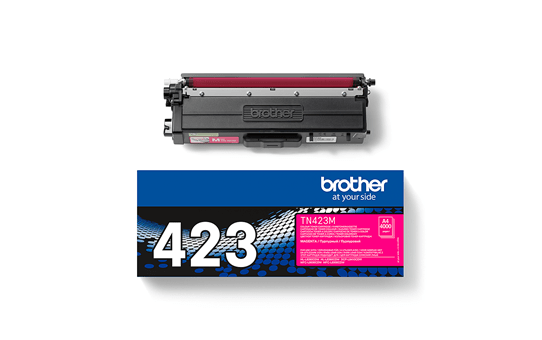 Brother TN-423M Toner Cartridge - Magenta 2