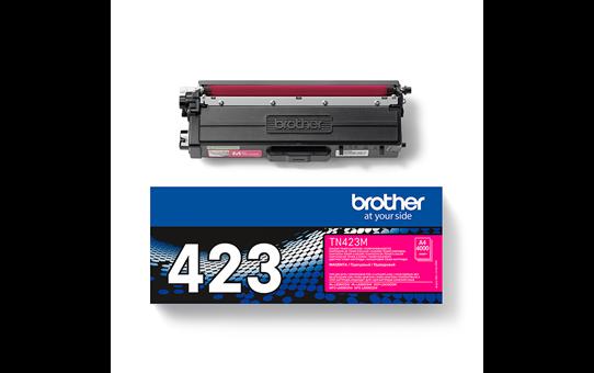 Brother original TN423M tonerkassett – magenta 3