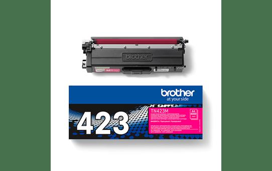 Originali Brother TN423M dažų kasetė – magenta spalvos 2