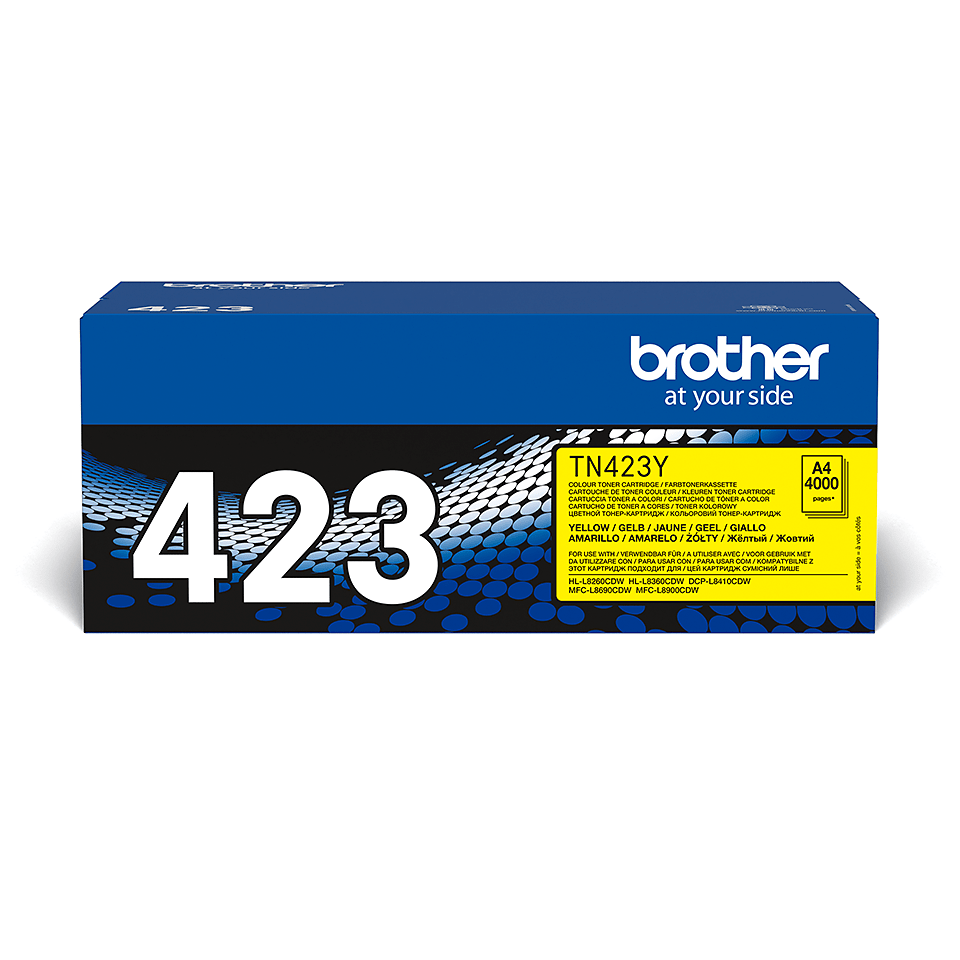 Brother TN-423Y Tonerkartusche – Gelb 2