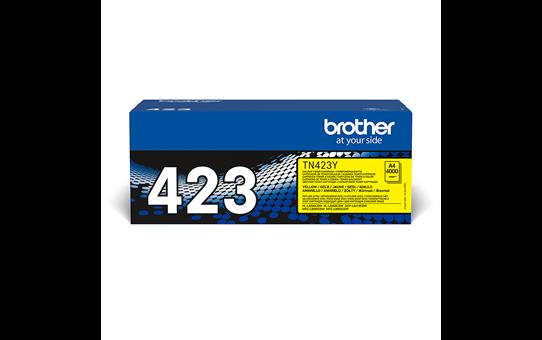 Originalen Brother TN-423Y toner – rumen