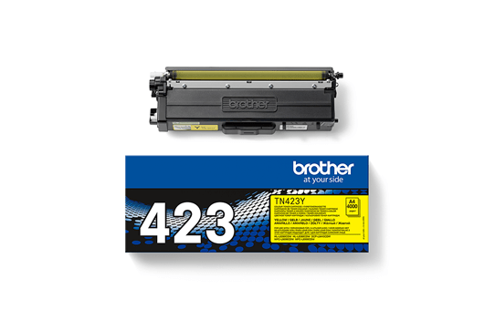 Cartouche de toner TN-423Y Brother originale – Jaune 2