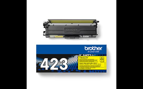Genuine Brother TN-423Y Toner Cartridge – Yellow 3