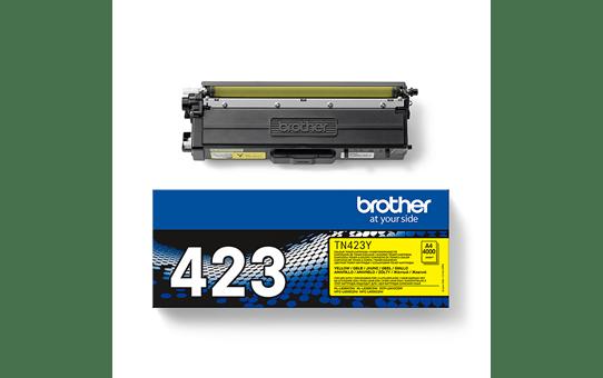Originali Brother TN423Y dažų kasetė – geltonos spalvos 2