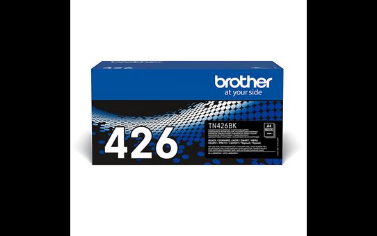 Brotherin alkuperäinen TN426BK-supervärikasetti – Musta