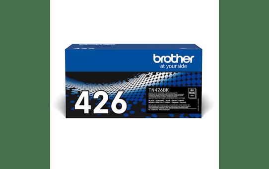Originali Brother TN426BK dažų kasetė – juodos spalvos 2
