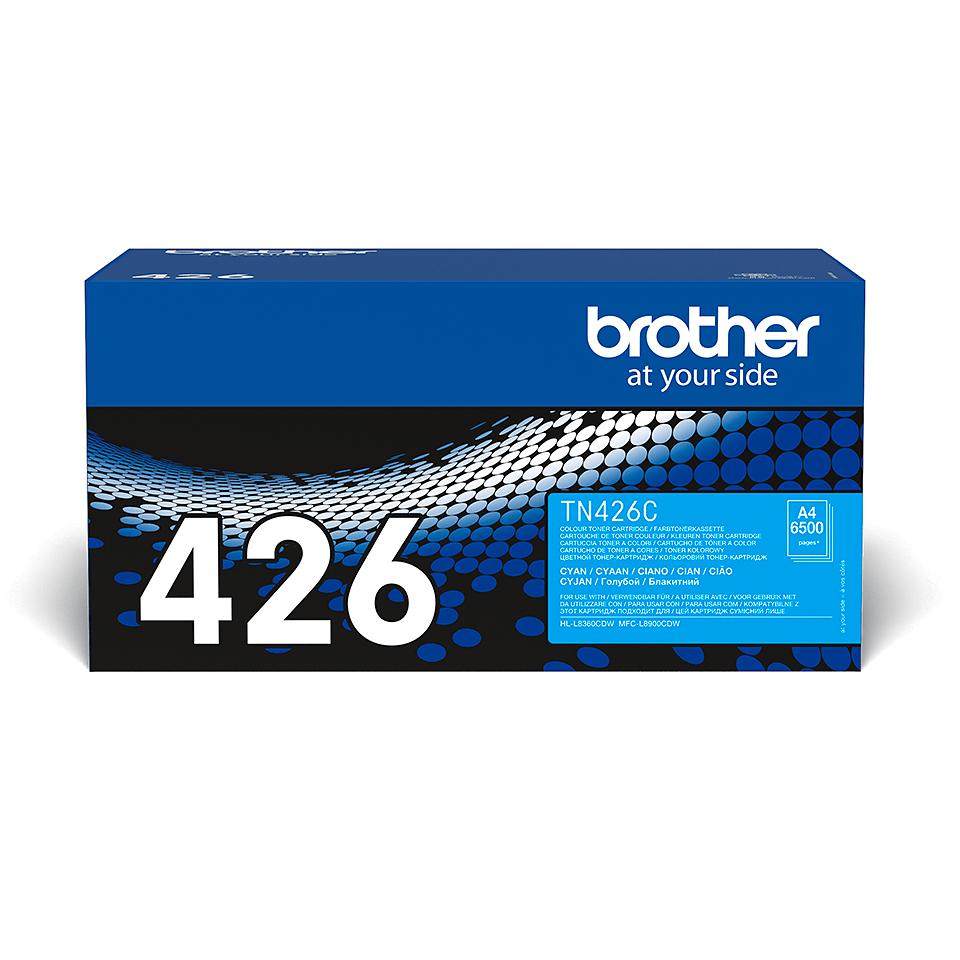 Original Brother TN426C toner – cyan 2