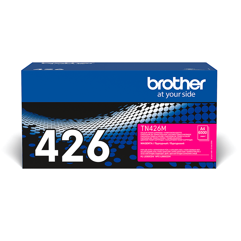 Originalen Brother TN-426M toner – magenta 2