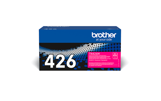Originali Brother TN426M dažų kasetė – magenta spalvos 2