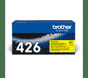 Originali Brother TN426Y dažų kasetė – geltonos spalvos