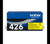 Brotherin alkuperäinen TN426Y-supervärikasetti – Keltainen