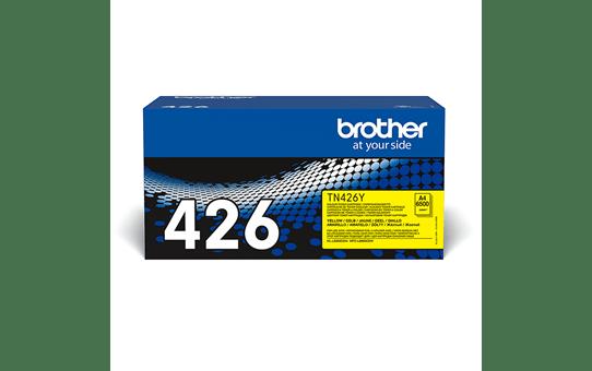 Original Brother TN426Y toner – gul 2