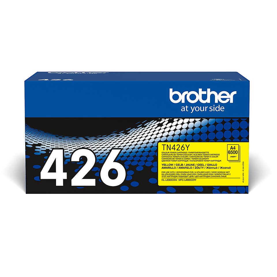 Brother TN426Y toner jaune - super haut rendement