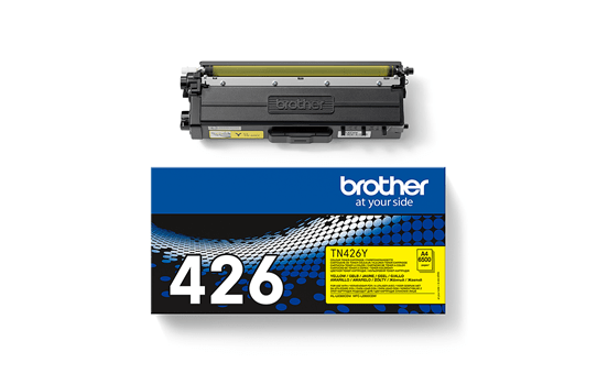 Original Brother TN426Y toner – gul 3