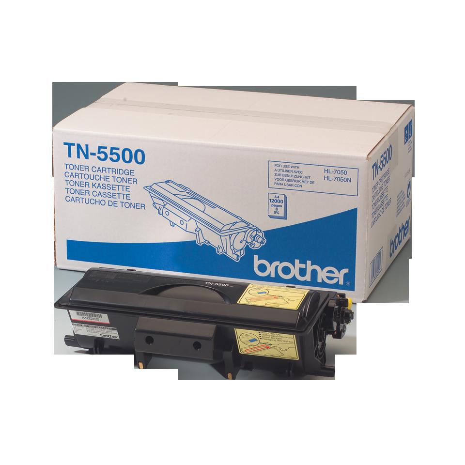 Toner preto TN5500 Brother