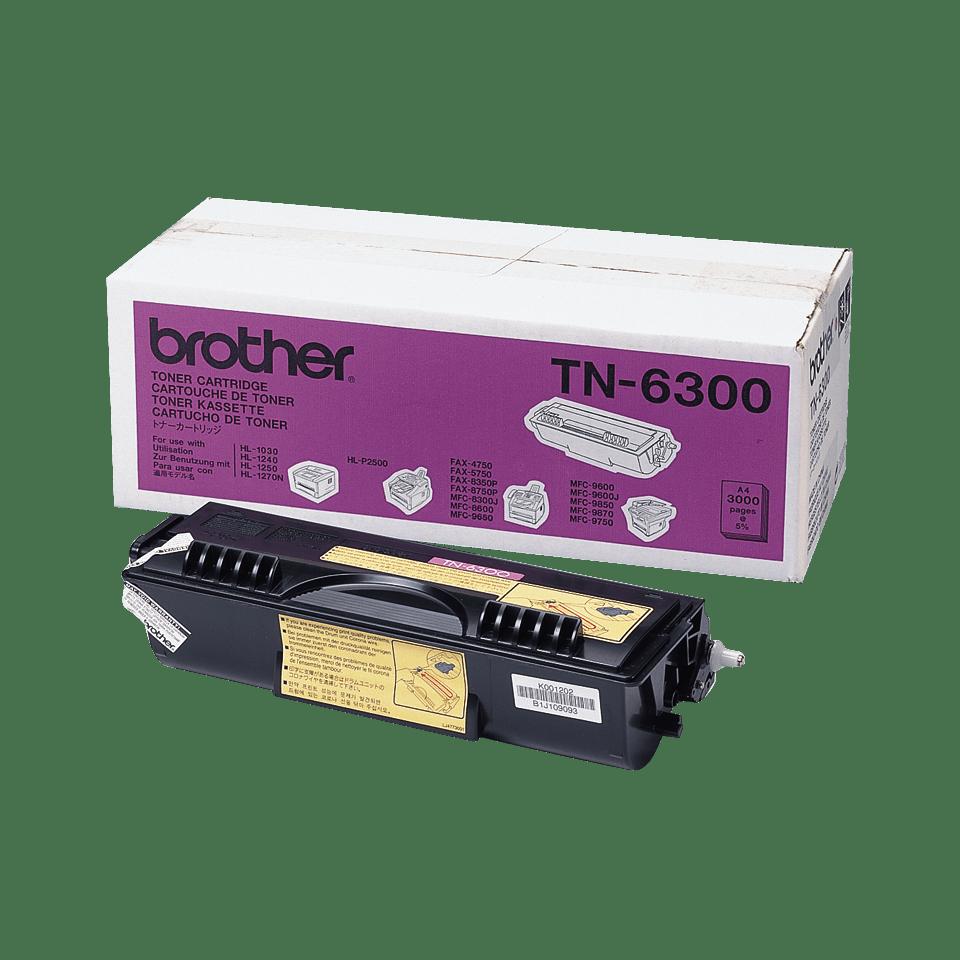 Toner preto TN6300 Brother