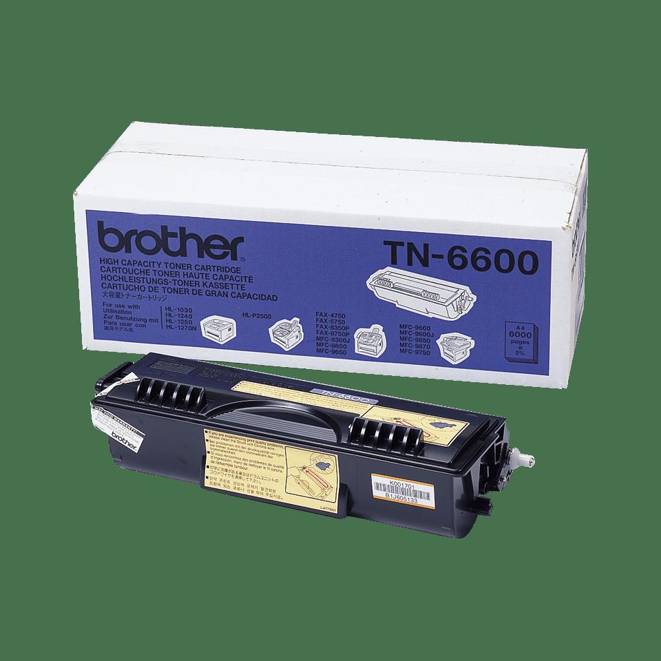 Brother TN6600 toner noir - haut rendement