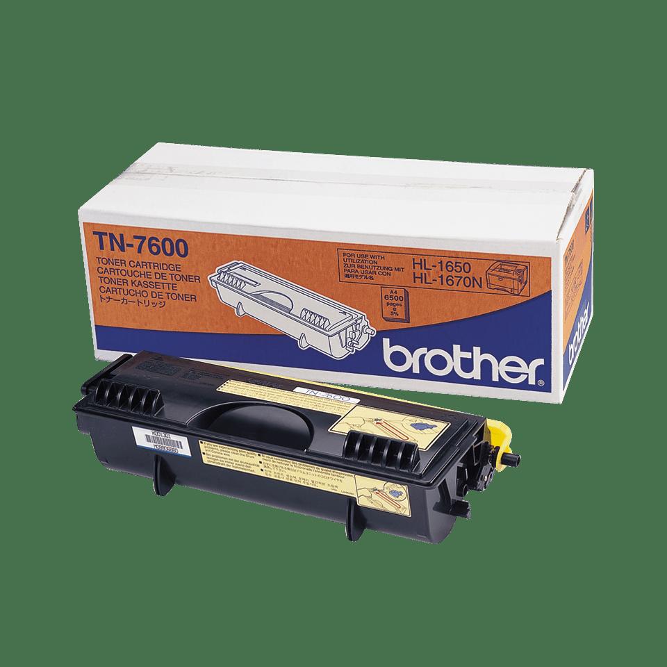 Toner preto TN7600 Brother