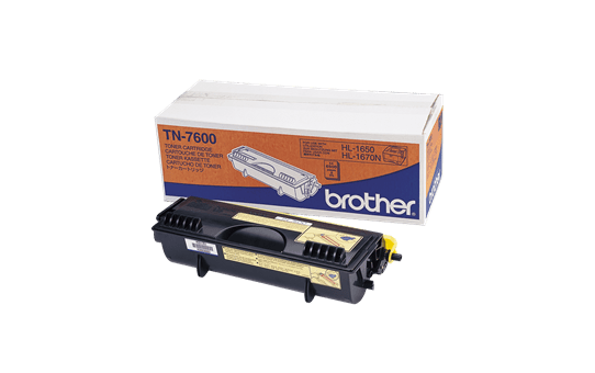 Brother TN7600 toner noir - haut rendement
