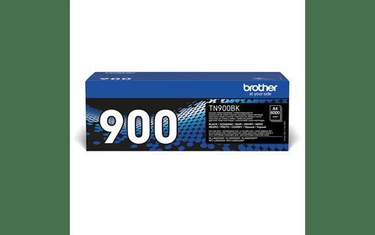 Brother TN900BK: оригинальный черный тонер-картридж.