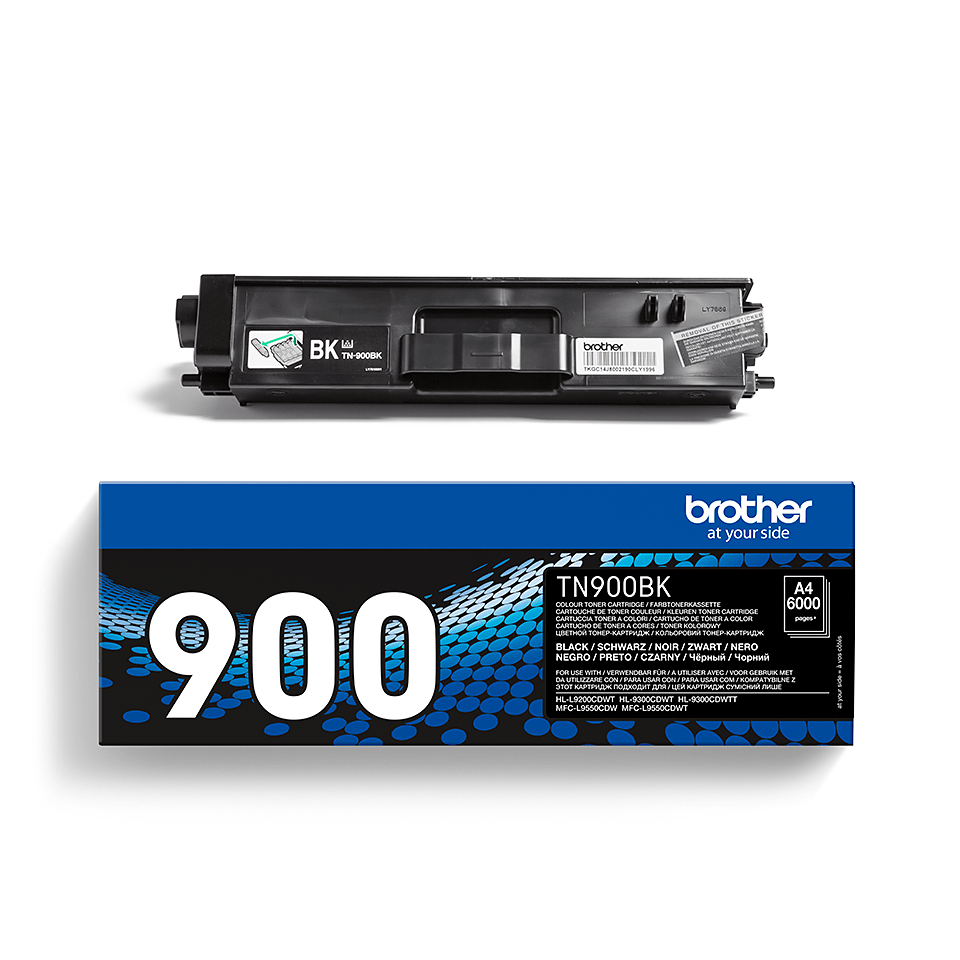 Brother TN900BK toner noir - ultra haut rendement
