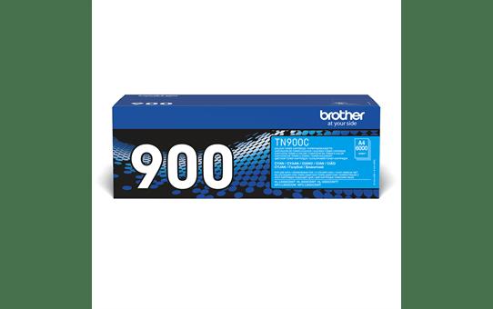 Oriģinālā Brother TN900C tintes kasetne, ciāna