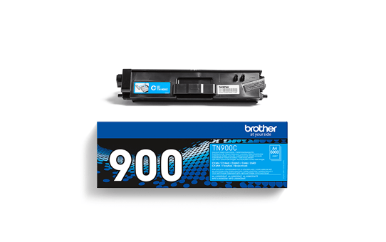 Originele Brother TN-900C cyaan tonercartridge