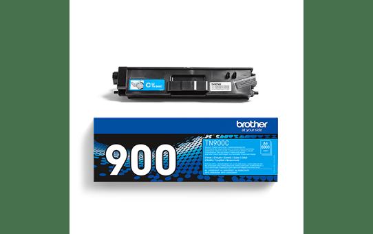 Brother TN900C: оригинальный голубой тонер-картридж. 3