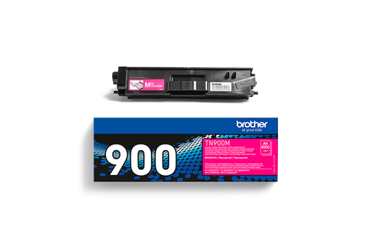 Cartouche de toner TN-900M Brother originale – Magenta 3