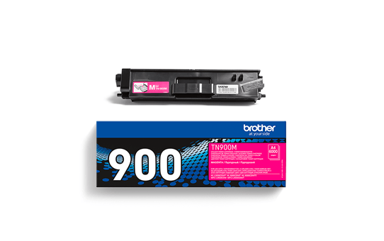 Originali Brother TN900M dažų kasetė – Magenta spalvos 2
