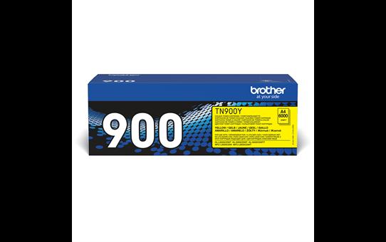 Originele Brother TN-900Y gele tonercartridge 2