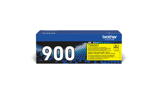 Original Brother TN900Y super høykapasitet toner – gul