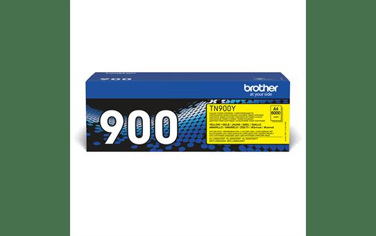 Brother TN900Y toner jaune - ultra haut rendement 2