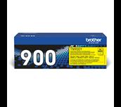 Brother original TN900Y tonerkassett – gul