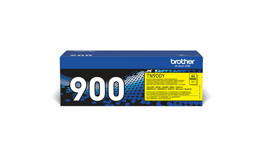 Brother TN900Y toner geel - ultra hoog rendement 2