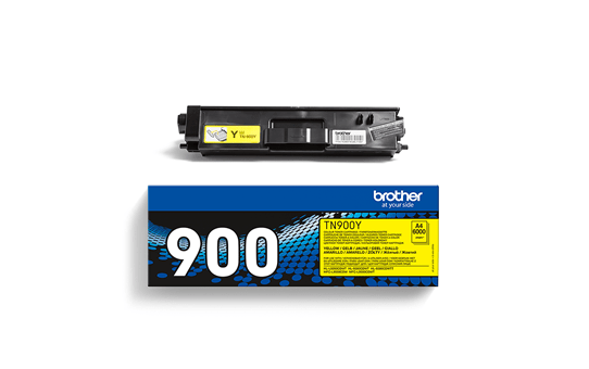 Genuine Brother TN-900Y Toner Cartridge – Yellow 2