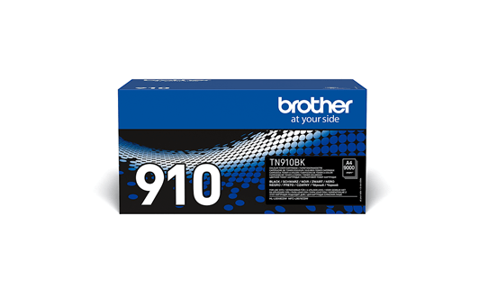 Originali Brother TN910BK dažų kasetė – juodos spalvos