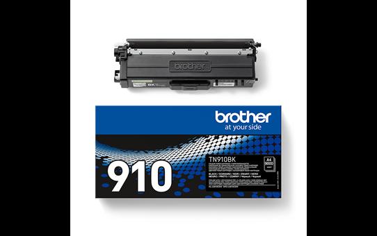 Eredeti Brother TN910BK festékkazetta - fekete 3