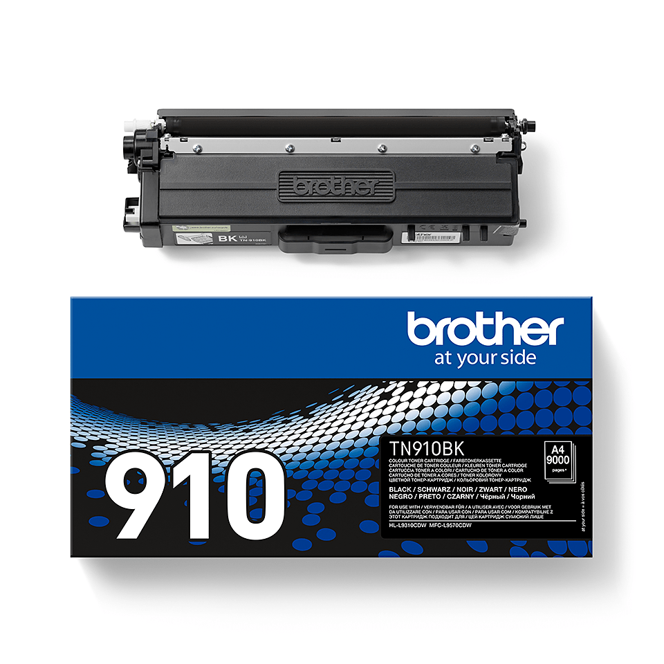 Genuine Brother TN-910BK Toner Cartridge – Black 2