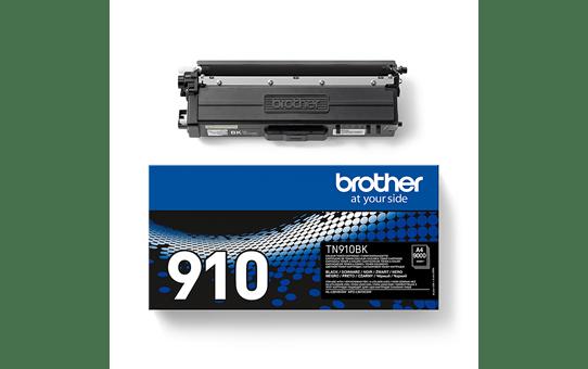 Originali Brother TN910BK dažų kasetė – juodos spalvos 2